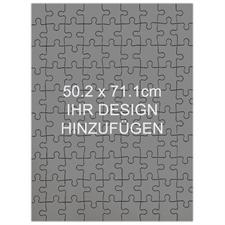 Holzpuzzle Personalisieren Hochformat 502 x 711 mm 208 Teile