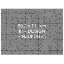 Holzpuzzle Personalisieren Querformat 502 x 711 mm 208 Teile