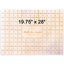 Herz Holzpuzzle mit Gravur 502 x 711 mm Puzzle 502 x 711 mm 151 Teile
