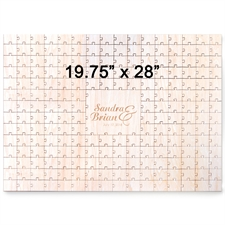 Herz Holzpuzzle mit Gravur 502 x 711 mm Puzzle 502 x 711 mm 209 Teile