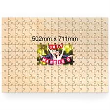 Holzpuzzle wie gemalt Personalisieren Querformat 502 x 711 mm 151 Teile