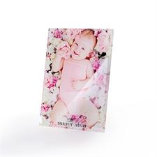 Foto Glasdruck 17,8 x 12,7cm Portrait zum Hinstellen Hochformat Personalisieren