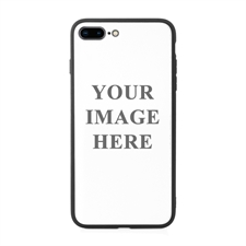 iPhone7plus iPhone8plus UV LED Druck schwarzer Rand Case Personalisieren