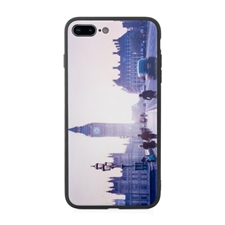 iPhone7plus iPhone8plus UV LED Druck Schwarz Case Personalisieren