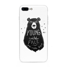 iPhone7plus iPhone8plus UV LED Druck Weiß Case Personalisieren