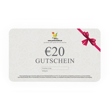 € 20,00 GUTSCHEIN