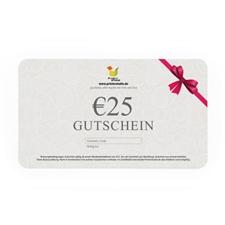 € 25,00 GUTSCHEIN