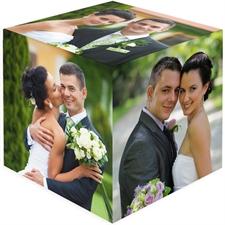 Sechs Seiten Fotowürfel mit Ihren Fotos oder Motiven selbst gestalten