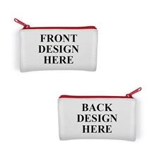 Sehr kleine Personalisierte  Neopren Kosmetiktasche mit verschiedenen Fotos 8,9 x 15,2 cm