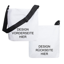 Crossbodybag (Umhängetasche) beidseitig selbst gestalten und bedrucken lassen