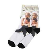 Socken selbst gestalten und voll bedruckt personalisieren Größe M Medium - Mehr als Alltag