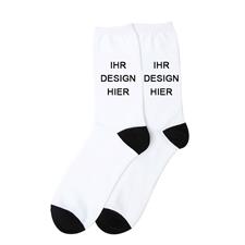 Socken voll bedruckt personalisieren Größe L Groß - Der Hingucker