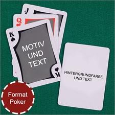 Modernes Personalisiertes Kartenspiel