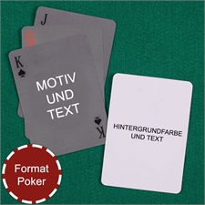 Einfaches Personalisierbares Kartenspiel