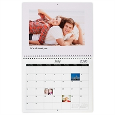 Wandkalender 216 mm x 279 mm, Weiß