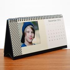 Tischkalender 216 mm x 280 mm, Zartrosa
