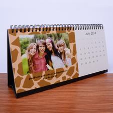 Tischkalender 12,7 x 27,94 cm, Wilde Sache
