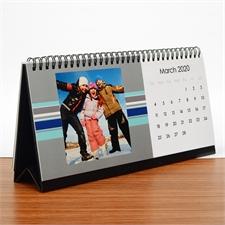 Tischkalender 12,7 x 27,94 cm, Modern