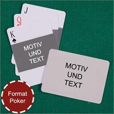 Foto Quer und Rückseite Querformat Kartenspiel