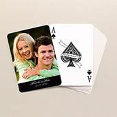 Love Schwarze Schrift Klassische Spielkarten