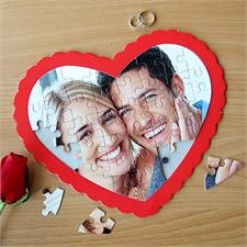 Herzpuzzle - Ihr eigenes Fotopuzzle in Herzform