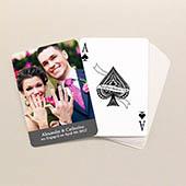 Love Klassische Spielkarten Standardschriftgröße Grau