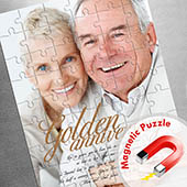 Grosses Magnetisch-Foto-Puzzle, Liebe
