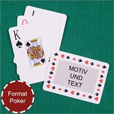 Zeitlose Großschrift Spielkarten, Querformat