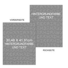 Grosses doppelseitiges Fotopuzzle, 30,48 cm x 41,91 cm, Hochformat