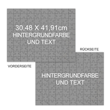 Großes beidseitiges Puzzle