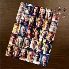 Facebook Großes Kollage Fotopuzzle, 30 Fotos