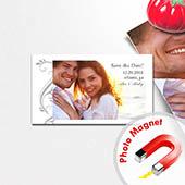Große Feier Save the Date Fotomagnet 5,08 x 8,89 cm