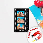 Das perfekte Paar Save the Date Fotomagnet 5,08 x 8,89 cm