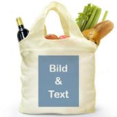 Vollbild Shoppingtasche Hochformat
