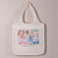 Zwei Fotos Shoppingtasche Klassisch