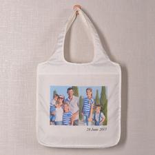 Zwei Fotos Shoppingtasche Modern