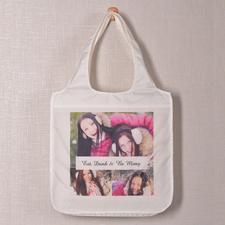 Drei Fotos Schnappschuss Shoppingtasche