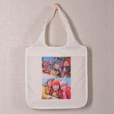 Drei Fotos Shoppingtasche Klassisch