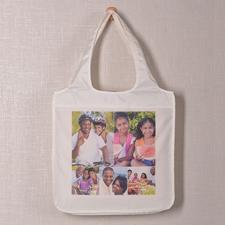 Fünf Fotos Shoppingtasche Klassisch