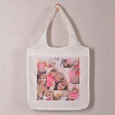 Neun Fotos Schnappschuss Shoppingtasche