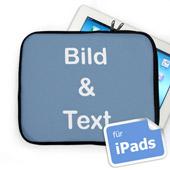 Personalisierte iPad Tasche Querformat