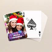 Weihnachtliche Spielkarten Standard Hochformat
