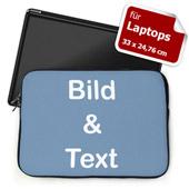 Personalisierte Laptop Tasche Medium Querformat