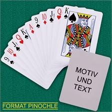 Binokel Kartenspiel Standard Hochformat