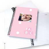 Notizbuch Glückliches Mädchen