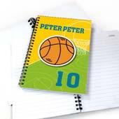 Personalisiertes Notizbuch Basketball