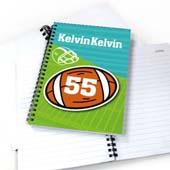 Personalisiertes Notizbuch für Sportler