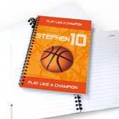 Persoanlisieres Notizbuch für Sportstars Basketball