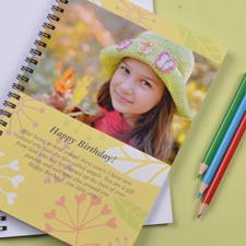 Notizbuch Sommerblumen