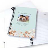 Wilde Blumen Notizbuch